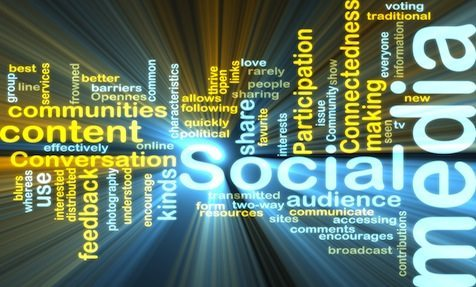 social media content cloud blue - You Have Your Social Media Business Page Set Up - Now What?