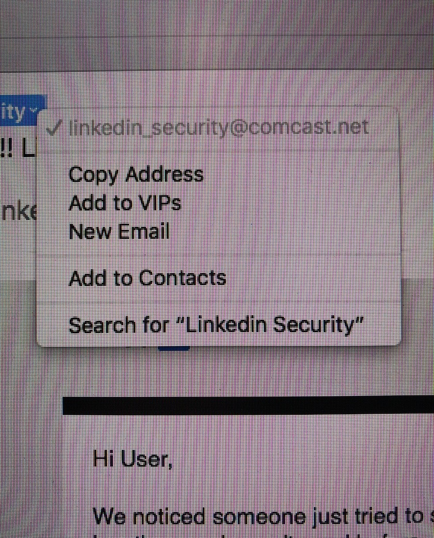 IMG 4562 1 - A LinkedIn Phishing Scam to Look out for